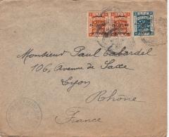 1927- Lettre EEF CaD Bethleem >> 5x2&3 Pour La France - Palestine