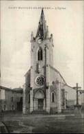 01 - SAINT-MAURICE-DE-REMENS - église - France