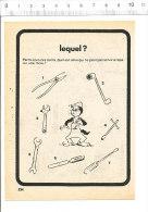 Humour Outils De Mécanicien Clé à Molette  / BIM 157/7 - Vieux Papiers