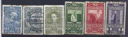 AUSTRIA / 1910 - Yvert # 127/132 (nuevos Y Usados) Precio Cat €92.50 - Usados