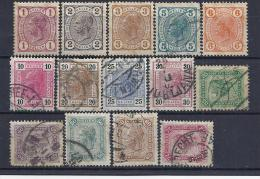 AUSTRIA / 1904 - Yvert # 81/94* Precio Cat €30.00 - 1850-1918 Imperio
