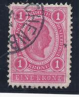 AUSTRIA / 1899-1902 - Yvert # 77A* Precio Cat €1.0 - 1850-1918 Imperio