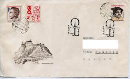 Celebrité Martin Luther,theologue,philosophe,UNESCO,forteresse Chateau,lettre 1.jour Obliteration Pfi/L 1983 - Unclassified