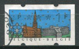 BELGIQUE - Timbres De Distributeurs - Y&T 29 (valeur Faciale 1Franc) - Franking Machines