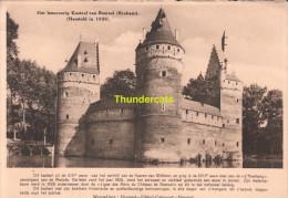 CPA HET LEENROERIG KASTEEL VAN BEERSEL BRABANT HERSTELD IN 1939 - Beersel