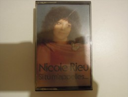 Nicole Rieu - Si Tu M'appelles... - Barclay 4 90148 - Audiokassetten