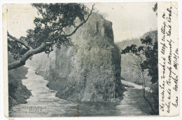 Victoria Falls, Series V, The First Fall, 1904 Postcard - Zambia