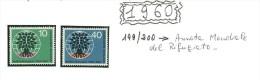 GERMANIA - DEUTSCHE POST - COLLEZIONE COMPLETA - MNH ** 1960  /  1961 - - Postzegels