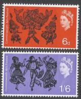 Great Britain. 1965 Commonwealth Arts Festival. MH Complete Set. SG 669-670 - 1952-.... (Elizabeth II)