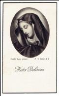 Bidprentje - Joanna VAN GINHOVEN Wed. Petrus VAN DUN - Ravels 1854 -  Ravels Eel 1938 - Images Religieuses
