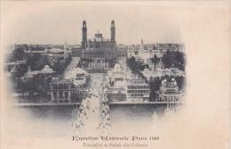 Exposition Universelle Paris 1900 Trocadero et Palais des Coloni