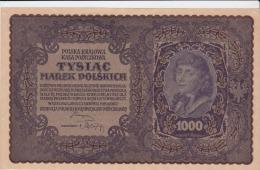 POLOGNE 1000 Marek 1919 P29 AU-UNC - Pologne