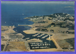 Carte Postale 56. Arzon Port-Navalo  Le Port Du Croisty Vue D´avion  Trés Beau Plan - Arzon