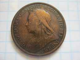 United Kingdom ½ Penny 1901 - C. 1/2 Penny