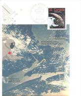 75444) Cartolina Maxmum Del Canada Con32c. Canadesi Nello Spazio+ Annullo Speciale 1985 - Maximumkaarten