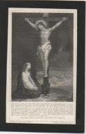 Doodsprentje/Image Pieuse Mortuaire. Delphine Delvigne/Delattre. Quaregnon 1817/1900. - Images Religieuses