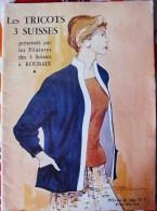 CATALOGUE LES TRICOTS 3 SUISSES-ALBUM DE LUXE N°7 - FILATURES 3 SUISSES ROUBAIX - Vieux Papiers