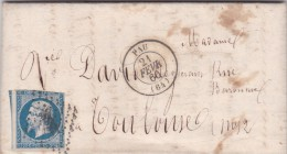 LAC   PC   2388   PAU      (64)   BASSES-PYRENEES  - REF 12137 - 1849-1876: Classic Period