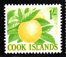 Cook Islands MH Scott #154 1sh Oranges - Cook