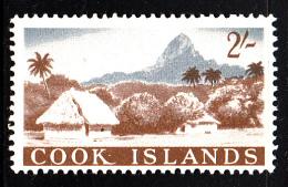 Cook Islands MH Scott #156 2sh Island Village Scene - Cook