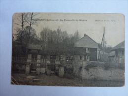 CPA 08 Ardennes Wasigny La Passerelle Du Moulin - Frankreich