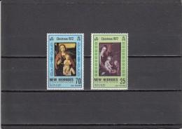 Nueva Hebrides Nº 352 Al 353 - Unused Stamps