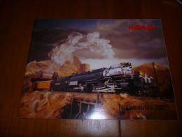 CB8 Catalogue Marklin Nouveautés 2001 116 Pages - Train - Modélisme - Wagon - Livres Et Magazines