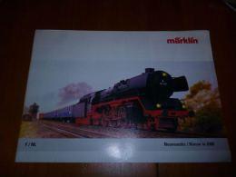 CB8 Catalogue Marklin Nouveautés 2006 72 Pages - Train - Modélisme - Wagon - Français Néerlandais - Livres Et Magazines