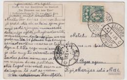 Latvia - Postcard Cancelled Jelgava 1925 - Lettonie