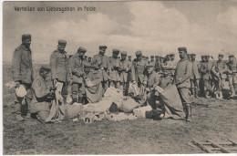 Nr.  6073,  Verteilen Von Liebesgaben Im Felde - War 1914-18