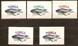 Tonga 1977 Yvertn° 402-406 *** MNH Cote 30 Euro Faune Marine Baleines - Tonga (1970-...)