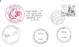 ANTARCTICA MAWSON 1986 - Polar Flights
