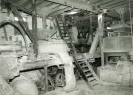 WAMBEEK Bij Ternat (Vlaams-Brabant) - Molen/moulin - Het Interieur Van De Klapscheutmolen In 1982 - Ternat
