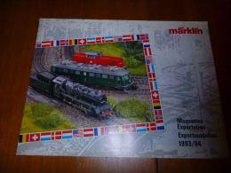 CB8 Catalogue Marklin Maquettes Exportation  -  Train Wagon Modélisme - 16pages - Sncb - Livres Et Magazines