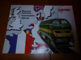 CB8 Catalogue Marklin Maquettes Exportation 1994/95 -  Train Wagon Modélisme - 16pages - Sncb - Livres Et Magazines