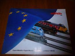 CB8 Catalogue Marklin Maquettes Exportation 1991/92 -  Train Wagon Modélisme - 16pages - Sncb - Livres Et Magazines