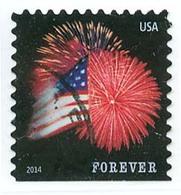 Etats-Unis / United States (Scott No.4855 - Feux D'artifice / Fireworks) (o) Carnet / Booklet P3 - Gebruikt