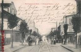 MONTREUIL-SOUS-BOIS L'AVNEUE PASTEUR ANIMEE 93 - Montreuil