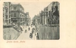 MALTE MALTA STRADA  REALE - Malta