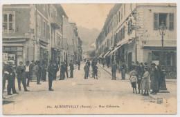 Savoie Albertville Rue Gambetta (très Animée) - Albertville