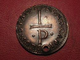 7445 Liege - Token - Patard Sancti Pauli ND, Holed - Monetary / Of Necessity