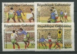 Gabun 1989 Fußball-WM Italien 1045/8 Postfrisch - Gabun (1960-...)