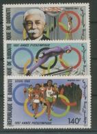Dschibuti 1987 Vorolympisches Jahr 495/7 Postfrisch - Dschibuti (1977-...)