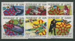 Guinea 1987 Olympiade Calgary 1154/9 A Postfrisch - Guinea (1958-...)