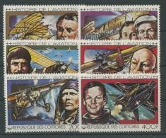 Komoren 1978 Geschichte Der Luftfahrt 429/34 Postfrisch - Komoren (1975-...)