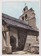 CPSM Grand Format - St SAINT AMANS LA LOZERE - L église Romane - Autres Communes