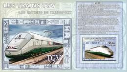 Kongo  Block 2006  TGV  **/MNH - Treinen