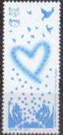 """Brasil 2015 ** UPAEP. """"Corazón Azul"""". Lucha Contra La Trata De Personas. See Desc. - Unused Stamps"""