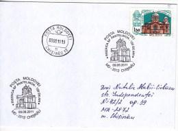 MOLDOVA  MOLDAVIE  MOLDAWIEN , 2011 , Chisinau , Sf.Panteleimon Church - 120 Years , Speciall Cancell.Used Cover. - Moldova