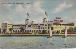 Hotel Mayfair St Johns River Fruit Order Card Sanford  Florida